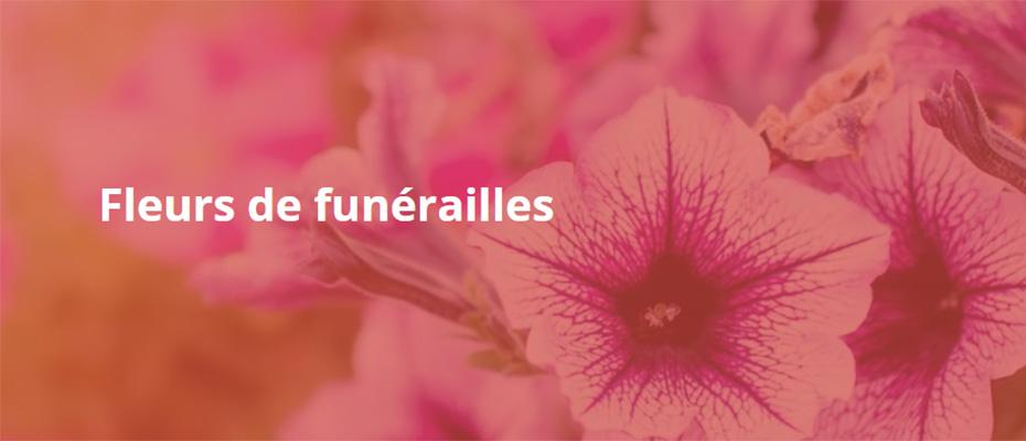 Fleurs de funérailles