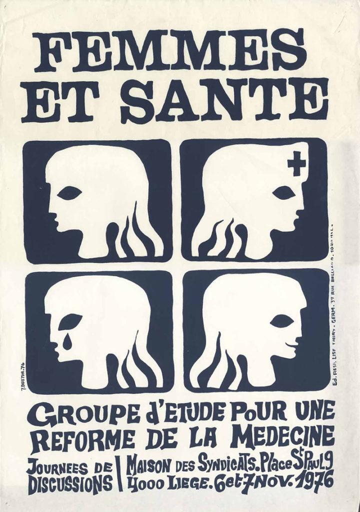 Femmes et santé : journées de discussions : Maison des syndicats, place St Paul 9 : 6 et 7 nov. 1976